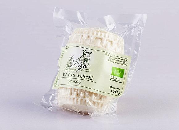 ser kozi wołoski naturalny - 1/2 walca ok. 150 g.