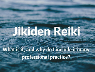 Jikiden Reiki - some light on the subject!