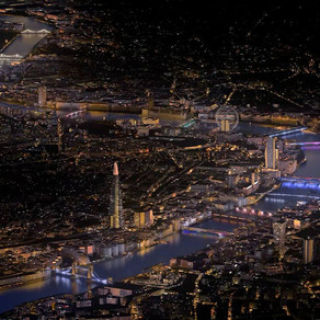 Blade of Light - an ode to the Millennium Bridge (Illuminated River Project)