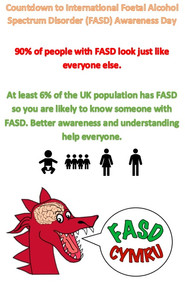 Most people with FASD look just like everyone else and at least 6% of the population of the UK has FASD