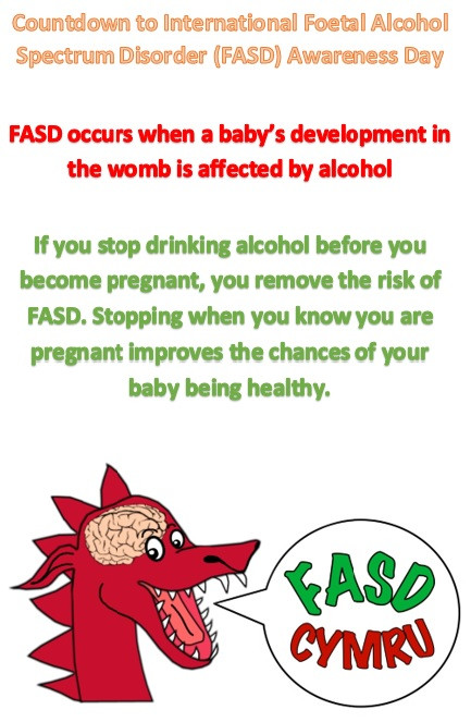 No alcohol in pregnancy means no risk of FASD