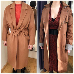 FORMULE LOOK ▪️_On a cherché le manteau