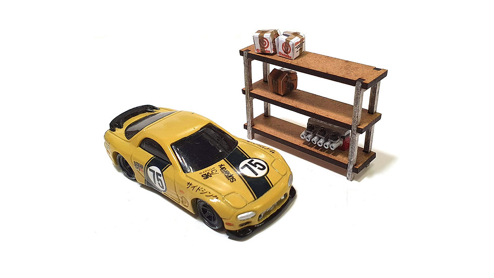 1/64th Scale Shelving Kits