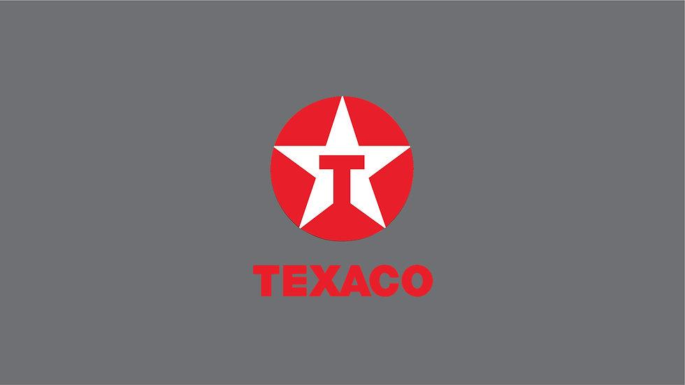 TEXACO Waterslide Decal Sheet