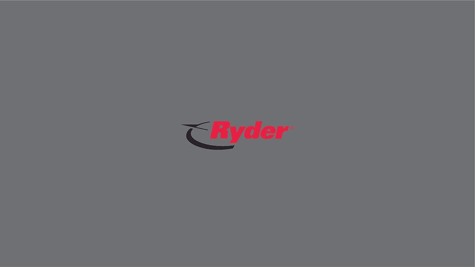 RYDER Waterslide Decal Sheet