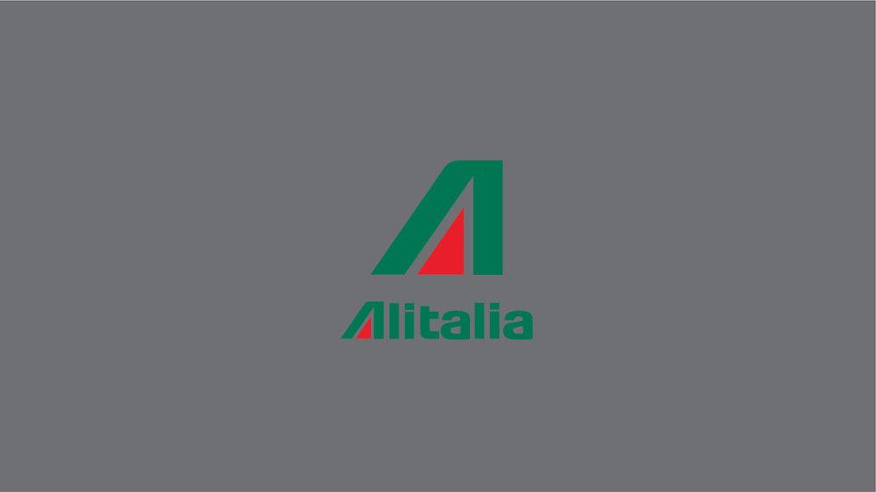 ALITALIA Waterslide Decal Sheet