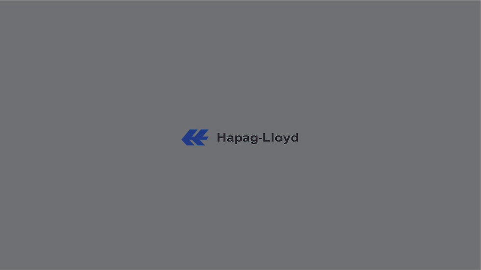Hapag-Lloyd Waterslide Decals for Containers