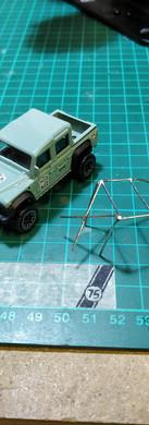 Hot Wheels Land Rover Defender Pickup