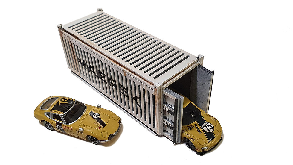 1/64th Scale Shipping Containers