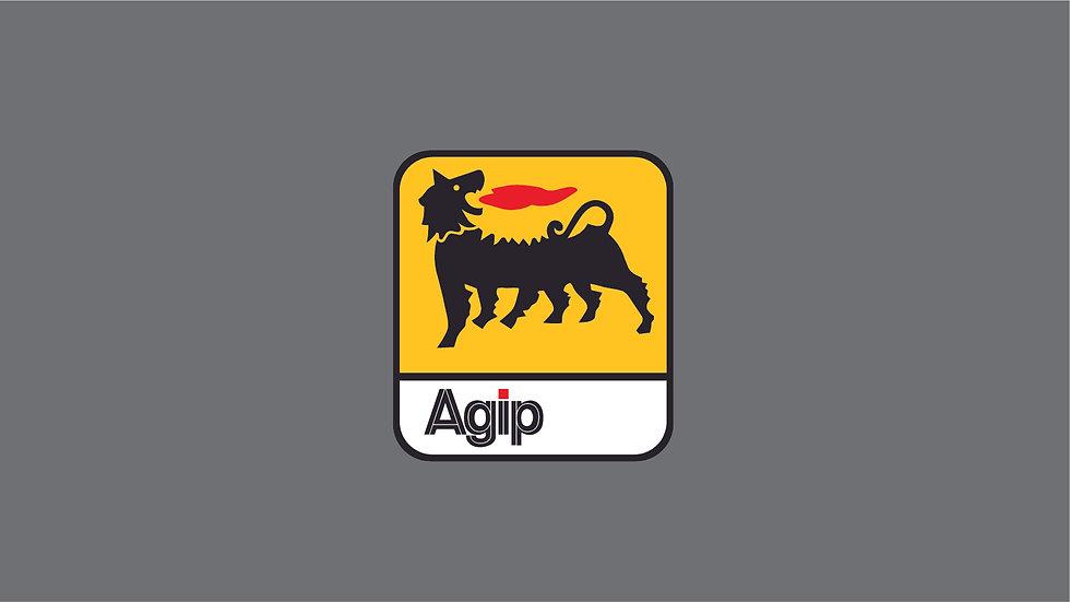 AGIP Waterslide Decal Sheet