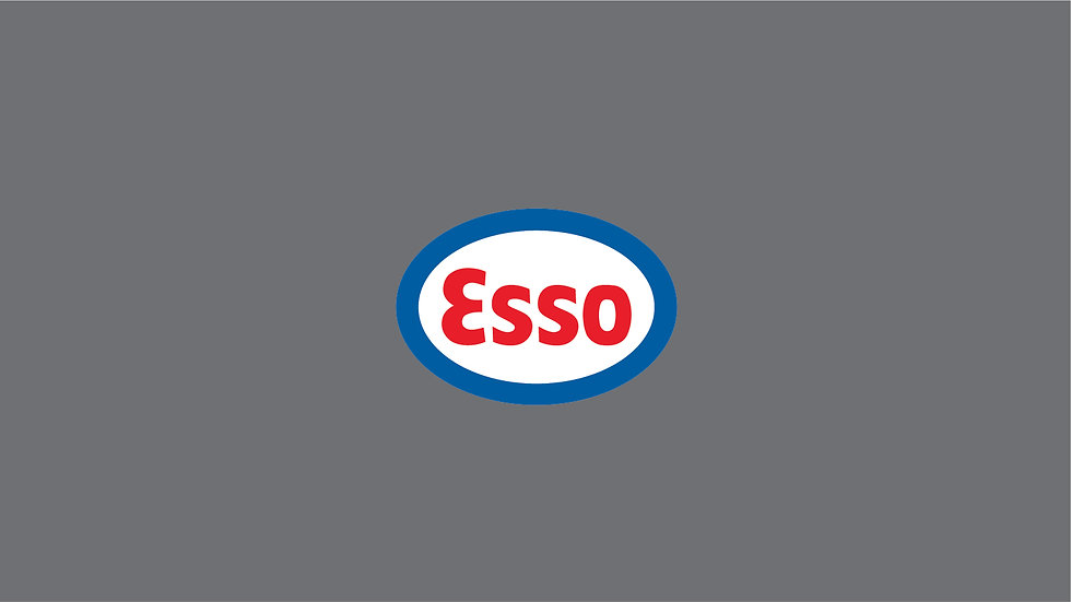 ESSO Waterslide Decal Sheet