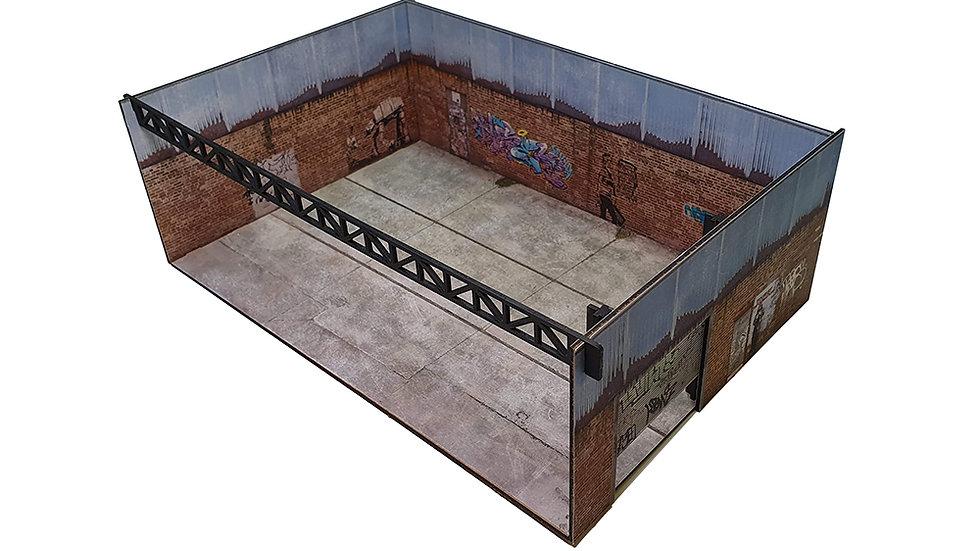 The Rundown 1/64th Scale Display Garage