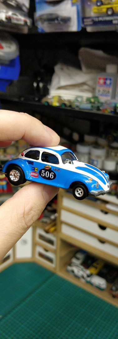 Matchbox VW Beetle Streaker