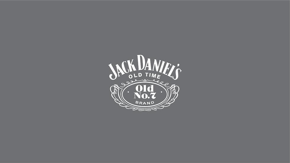 JACK DANIELS Waterslide Decal Sheet