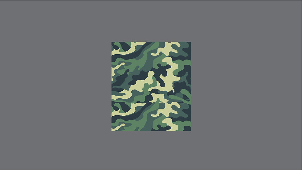 CAMOUFLAGE TEXTURES Waterslide Decal Sheet