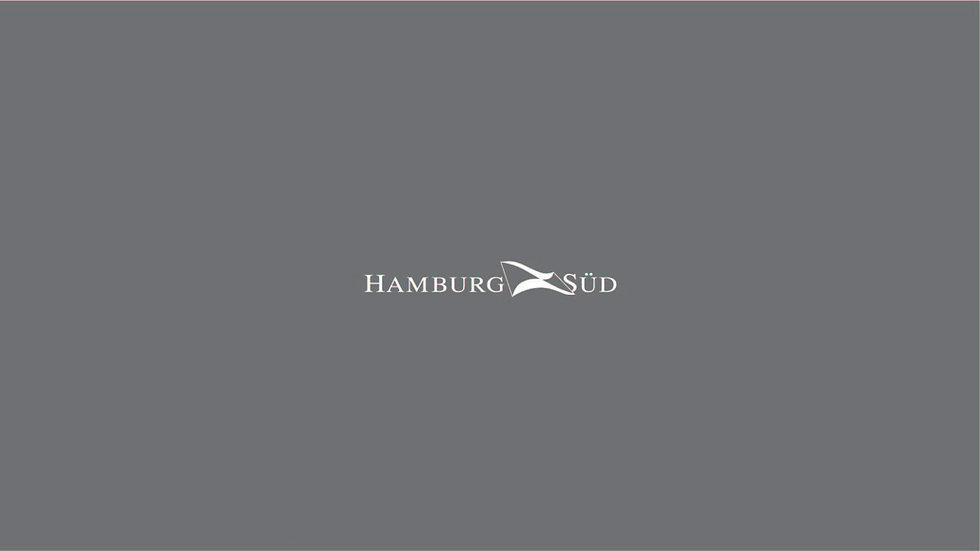 Hamburg Sud Waterslide Decals for Containers