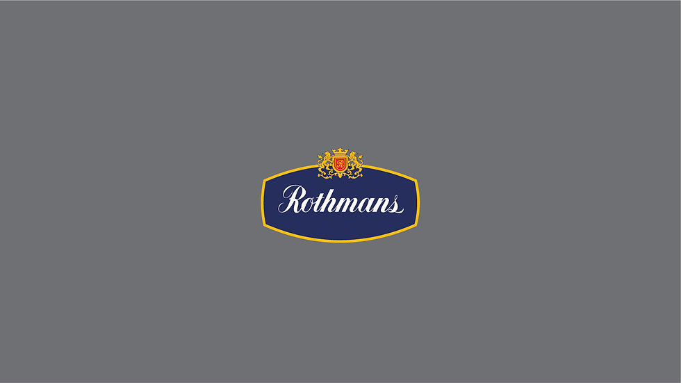 ROTHMANS waterslide Decal Sheet