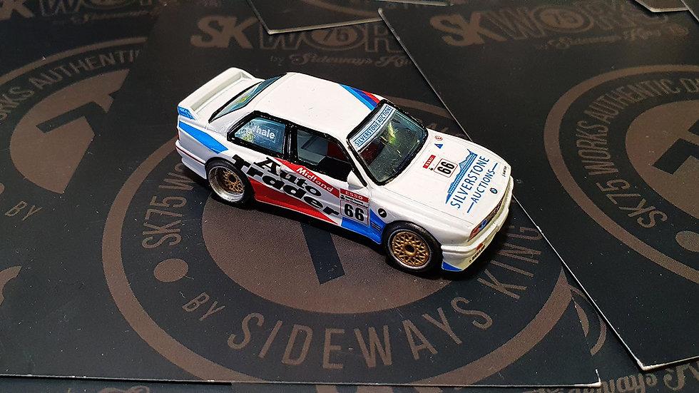 BMW E30 M3 'AUTO TRADER' BTCC Waterslide Decal Sheet