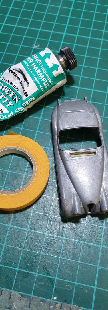 Matchbox Jaguar XK120