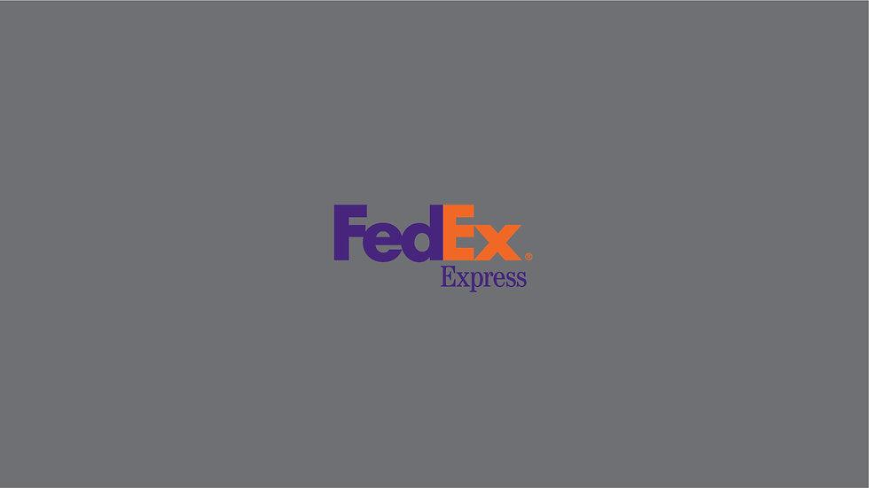 FEDEX Waterslide Decal Sheet
