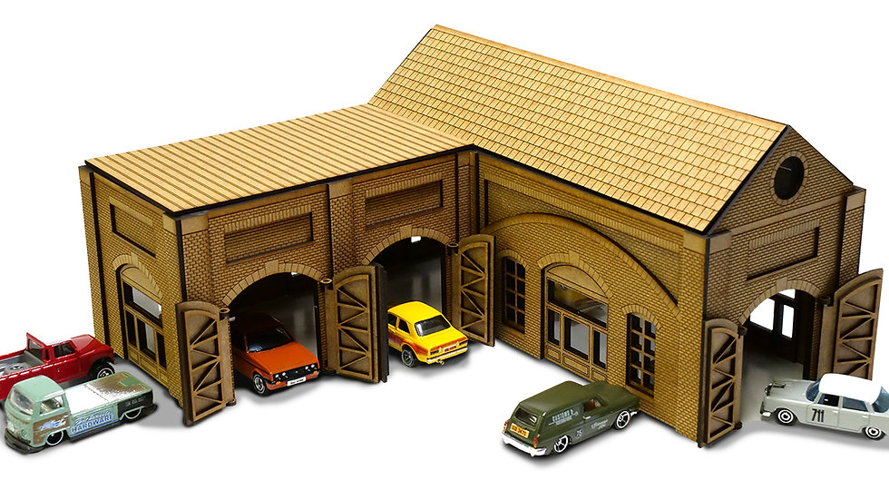 The Old Works 1/64th Scale Garage