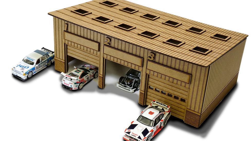 The Pits 1/64th Scale Garage