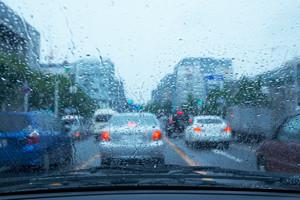 雨の時の運転(一発試験沖縄)