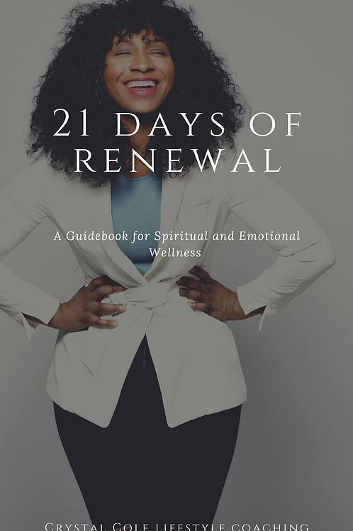 21 Days of Renewal