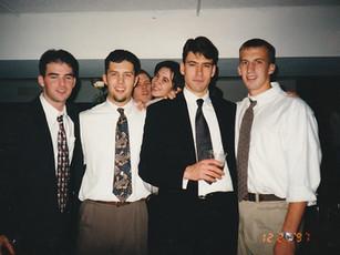 Tim Lovell's Wedding, Cedar Rapids, IA, 1997