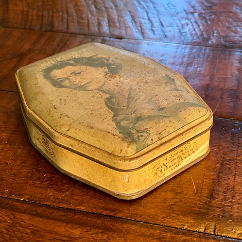 Vintage Queen Elizabeth Toffee Tin