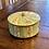 Thumbnail: Vintage Round Mint Green Lidded Tin