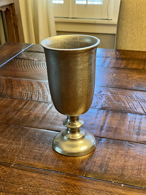 Antique Armetale Pewter Chalice