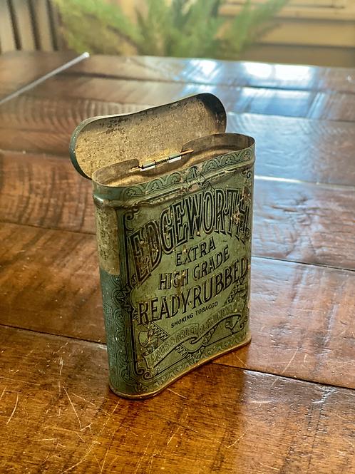 Vintage Hinged Edgeworth Tobacco Tin