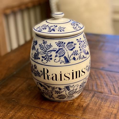 Antique German Raisin Crock