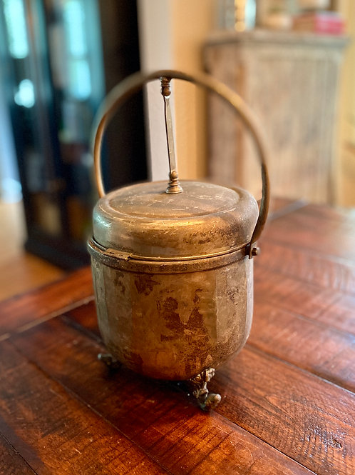 Antique Silver Ice Bucket