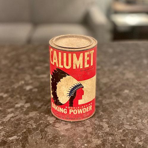 Vintage Calumet Tin
