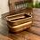 Thumbnail: Antique Copper Rectangular Vessel
