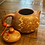Thumbnail: Vintage Asian Floral Red Clay Teapot
