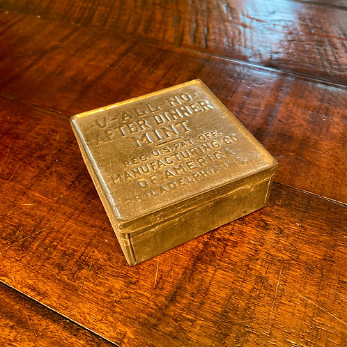 Antique Mint Tin