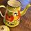 Thumbnail: Vintage Enamel Hand-painted Kettle