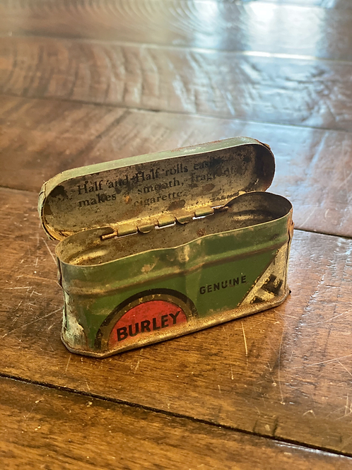 Vintage Mini Hinged Tobacco Tin
