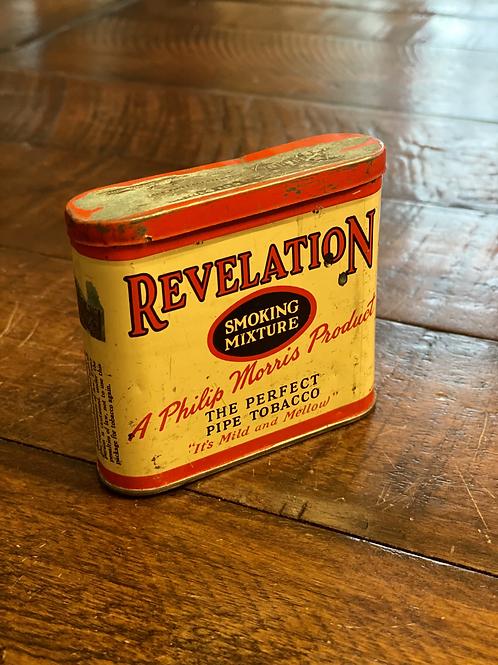 Antique Revelation Pocket Tin