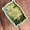 Thumbnail: Vintage Rectangular Green Vase