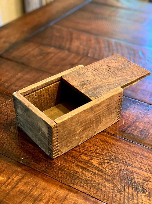Vintage Steel Bit Dovetail Box