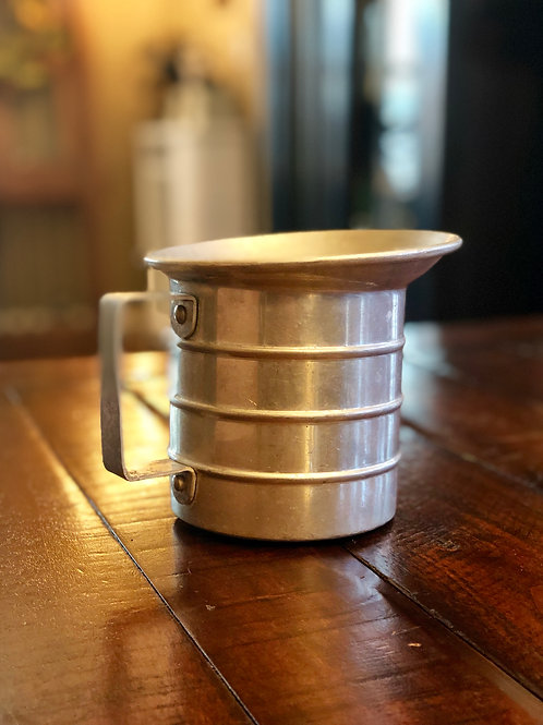 Old Aluminum Handled Cup