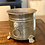 Thumbnail: Antique Solid Brass Footed Cauldron