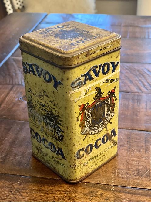 Savoy Coffee Tin