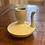 Thumbnail: Vintage Asian Mint & Cream Teapot