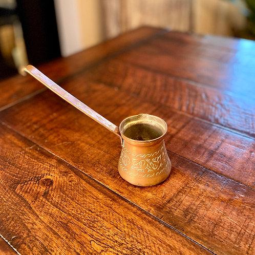 Antique Copper Turkish Coffee Ladle