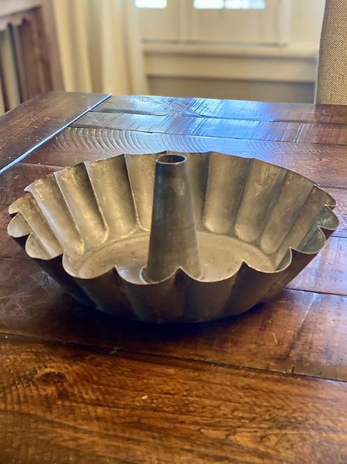 Antique Tin Dessert Mold